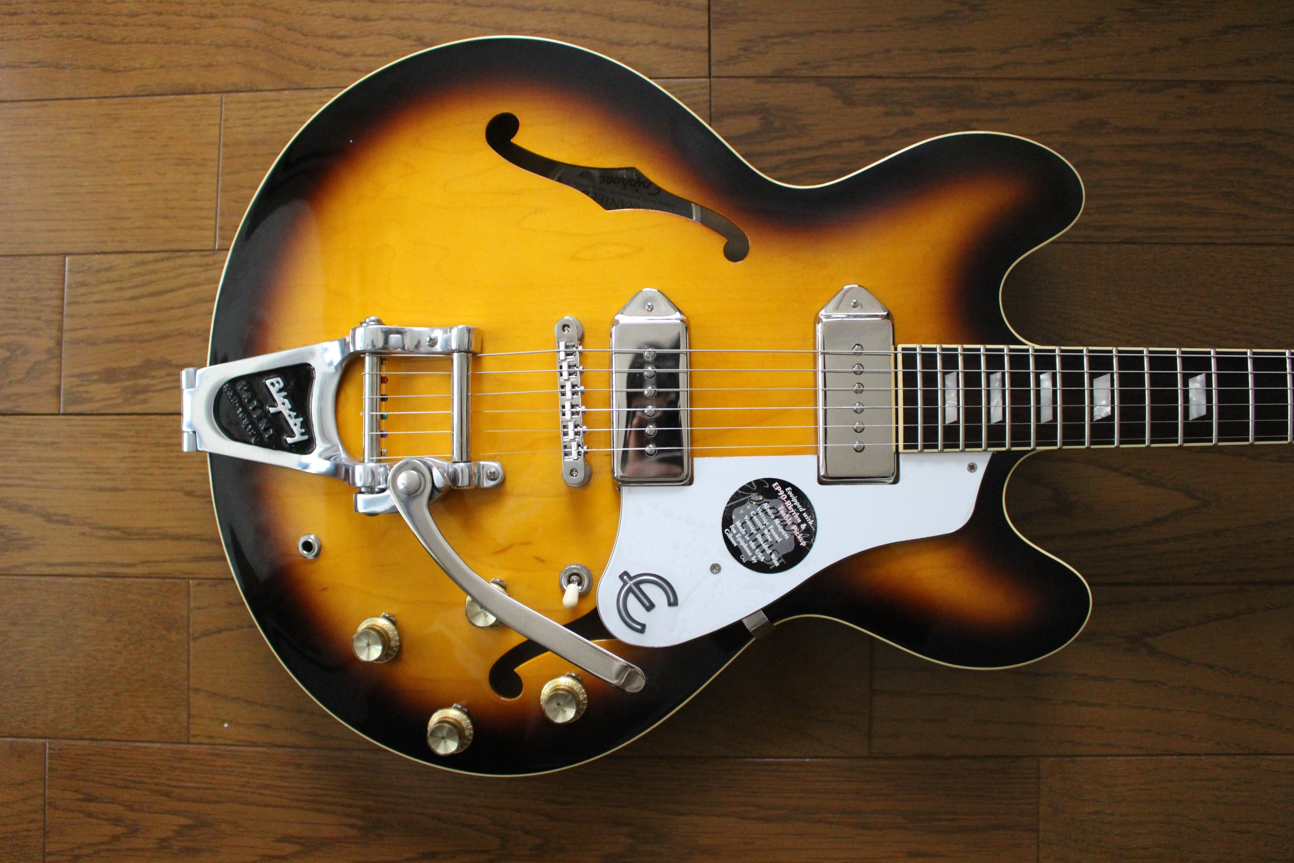 Epiphone casino with bigsby review